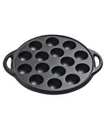 15 Hole Cast Iron Uncoated Nonstick Octopus Ball Takoyaki Maker Meatball... - $46.99