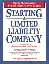 Starting A Limited Liability Company 0471133655 - $5.00
