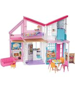 Barbie Malibu House (Mattel FXG57) and Playset with Scented Barbecue, Pu... - $299.00