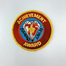 Vtg BSA Boy Scout Patch Mid America Council Diamond Jubilee Achievement Award  - $19.00