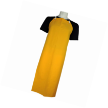 Global Glove A355Y PVC on Polyester Apron, Size 1, Yellow (Case of 36) - $182.41