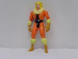 "ORIGINAL Vintage 1992 Toy Biz X Men Sabretooth 5"" Action Figure - $14.84"