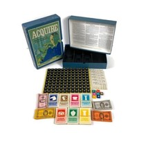 Vintage 1971 Acquire 3M Bookshelf Game Complete - $69.29