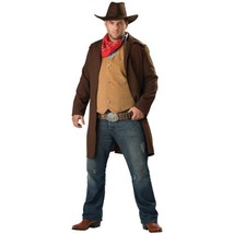 InCharacter Rawhide Renegade Plus Size Costume Brown/Red - $68.73