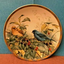 Lenox Collector's PLATE- Nature's Collage Plate COLLECTION- Indigo Evening - $19.95