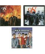Lot of 3 CDs 98 Degrees O-Town - No Cases - $1.99