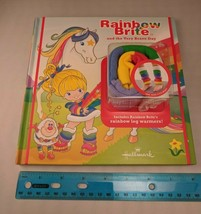 Hallmark Rainbow Brite and the Very Brave Day Hardcover Book w/ Leg Warmers NEW - $12.00