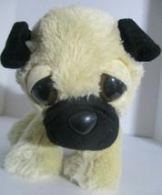 "Aurora Miyoni Small Bulldog Puppy Dog Plush Soft Stuffed Animal Doll Toy 9"" - $9.89"