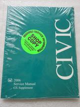 Q New 2006 Honda Civic GX Service Repair Manual Supplement OEM Factory Shop - $2.82