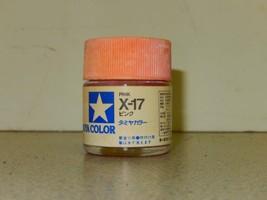 Tamiya Colors Acrylic PAINT- X-17 PINK- 23ML- NEW- L74 - $4.30