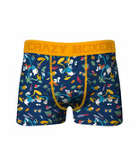 Crazy Boxers Donald Duck All Over Print Boxer Briefs Blue - $21.98