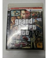 Grand Theft Auto IV  - Sony Playstation 3 Game - $4.54