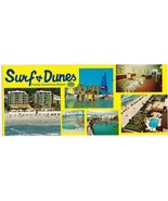 South Carolina Postcard Myrtle Beach Surf & Dunes Resort Long Card - $2.12
