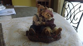 "20#L  Autographed Boyd's Bears Bearstone Collection ""Come Live With Me a... - $21.76"