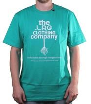 LRG Lifted Research Men's Aqua Green The Rooted T-Shirt Medium NWT