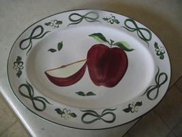 Block Apple 14 1/4 oval platter 1 available - $10.25