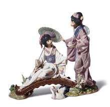 Lladro 01001445 SPRINGTIME IN JAPAN Oriental traditions 1445 New in orig... - $1,811.84