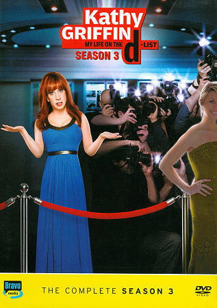 Kathy Griffin My Life on the D-List: Season 3 DVD 2011 2-Disc Set