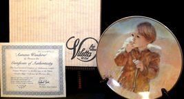 """Autumn Wanderer"" by Thornton Utz Plate with Viletta Box USA AA20-CP2230 Vintage image 3"
