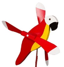 PARROT WIND SPINNER - Amish Handmade Whirlybird Weather Resistant Whirli... - $98.40 CAD