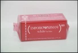 wähle echt schön Design Schnäppchen 2017 Emporio Armani White For Him (Red) 1.7 Oz / and 36 similar items