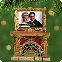 Hallmark - Our First Christmas Together Photo Holder Ornament - 2001 - $5.93