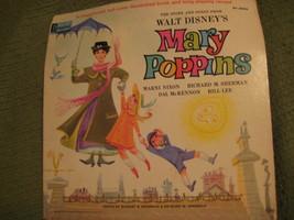 33RPM Vintage 1964 Original MARY POPPINS Walt Disney - $12.52