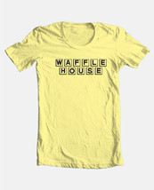 Waffle House T-shirt retro 80's fast food 100% cotton graphic tee  - $19.99+