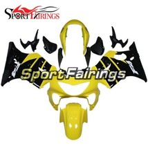 Fairings for Honda CBR600F4 1999 2000 Bodywork F4 99 00 Yellow Black Bod... - $497.74