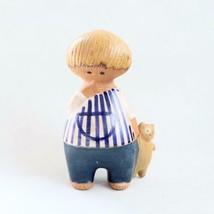 Lisa Larson GUSTAVSBERG MALIN UNGER  pottery figurine Scandinavian vintage - $494.99