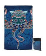 Oriental Features Octopus Quick Dry Beach Towel - $28.19+