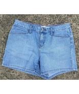 Tommy Hilfiger Womens 8 Denim Jean Shorts Hipster A12 - $10.29