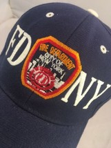 FDNY Fire Department New York Hat Blue OSFA  - $12.86
