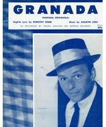 Sheet Music Granada Fantasia Espagnola Dorothy Dodd Agustin Lara Frank S... - $14.36