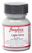 Angelus Acrylic Paint 1 Oz. (Light Grey) - $1.97