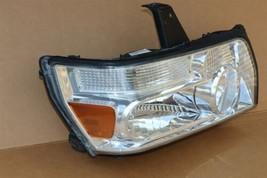 04-10 Infiniti QX56 Xenon HID Headlight Head Light Passenger RH - POLISHED image 2