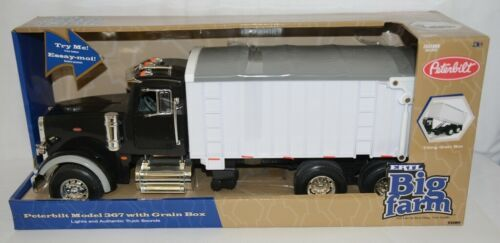 ERTL Tomy TBEK46184 Big Farm Peterbilt Model 367 With Grain Box