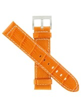 Hamilton 21mm ORNG Gator Grain Khaki Navy GMT Air Race/ETO Watch Band H6... - $140.00
