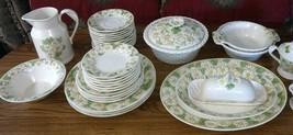 """Vintage METLOX Poppytrail """"WOODLAND GOLD"""" Dinnerware ~ 27 Piece Set  - $68.30"""