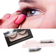Self-adhesive Eyelashes, AINATU 3D Reusable and Easy to Apply Natural Long Fake  - $26.02