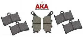 Complete Set of Front and Rear Brake Pads for: Yamaha MT07 ABS 2014 to 2018 - $40.58