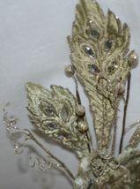 Regency International MTX44552 Sage Velvet Magnolia Acanthus Leaf Stem image 5