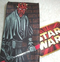 Vintage Star Wars Neck Tie Darth Maul Collector Ralph Marlin Old Stock N... - $24.74