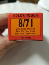 Wella Color Touch Shine Enhancing Color 1:2 8/71 Light Blonde, Brown Ash - $5.89