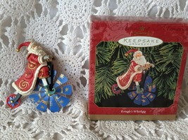 Hallmark Keepsake Ornament 1999 KRINGLE'S WHIRLIGIG   - $6.78