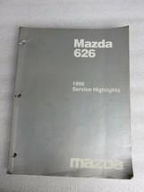 1998 Mazda 626 Service Repair Manual Highlights OEM Factory Dealership Workshop - $6.95