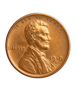 1910 S Lincoln Wheat Cent - Gem BU / MS / UNC - €142,27 EUR