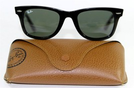Ray Ban 2140 901 Wayfarer Classic Black Sunglasses 50mm New and Authentic - $81.13