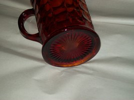 Indiana Glass Tiara Ruby Sunset Amberina Red Constellation Water Pitcher Vintage image 7