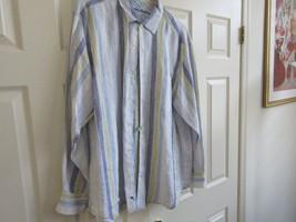 Tommy Bahama  , Size XL , Men's Long Sleeve Shirt , 100% Linen - $39.95